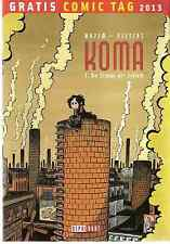 Comic - Vom Gratis Comic Tag 2013 - Koma -  deutsch