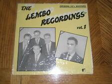 LEMBO RECORDINGS V.1 / VA. HOLLAND WHITE LABEL ~ NEW MINT ~ SEALED