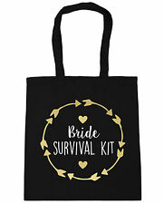 Bride survival kit Tote Shopping Gym Beach Bag 42cm x38cm, 10 litres
