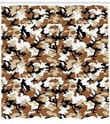Feminine Artisan Pattern Shower Curtain Fabric Decor Set with Hooks 4 Sizes