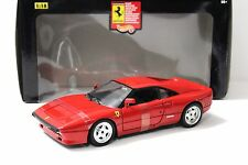 1:18 Hot Wheels ferrari 288 gto 1984 red new en Premium-modelcars