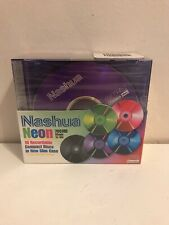 Nashua - 10 Recordable CD-R With Neon Cases - 700MB 1x-16x - New And Sealed
