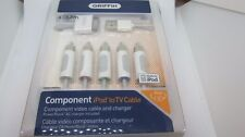 New GRIFFIN 6 foot Component AV Video Cable 30-pin For Apple iPhone/IPOD