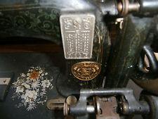 SEWING MACHINE VINTAGE RETRO KITSCH HAND CRANKED VICTORIAN GERMAN NEUMANN SEWING