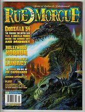 RUE MORGUE MAGAZINE #60 SEPT 2006 GODZILLA '54 - BOLLYWOOD HORROR