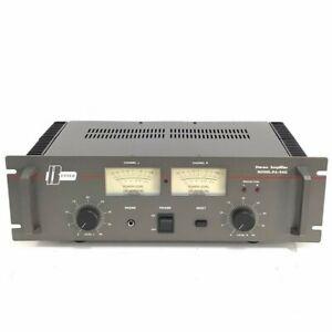 BETTER PA-940 STEREO POWER AMPLIFIER