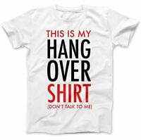 This Is My Hangover T-Shirt 100% Premium Cotton Funny Gift Present Stag Do