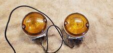 GENUINE Harley Panhead Shovelhead Guide DP 62 Turn Signals 12V Lights 68508-64