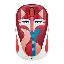 Logitech 910-004442 Wireless Mouse Francesca Fox Very Good