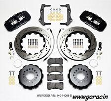 Wilwood AERO4 Big Brake Rear Brake kit fits 2012-2016 Dodge Challenger,Charger