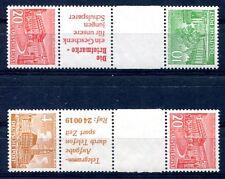 BERLIN 1949 SZ5, SKZ 4 ** POSTFRISCH ZUSAMMENDRUCKE 390€(S0191