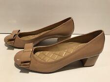Michael Kors Kiera Pumps Heels Patent Leather Beige Nude 10 M / 41