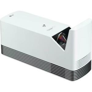 LG HF85LA CineBeam Ultra Short Throw Laser DLP Stereo Projector -White