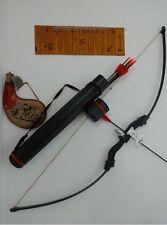 Al Riser Take down Straight bow /W sight & rest,draw weigt 40lbs,LH/RH +Quiver