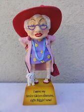 """Westland  Biddys """" Senior Citizen Discount """" Numbered Figurine in Box"""