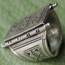 Hill tribe Size.Us=8 Uk=P Handmade Ring Pure silver Karen