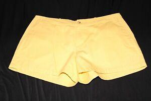 Polo Ralph Lauren Yellow Shorts Blue Pony Women's Size 4