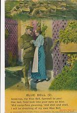 POSTCARD  SONG CARD    Blue  Bell  ( 2 )