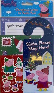 PEPPA PIG Christmas Letter to Santa Pack