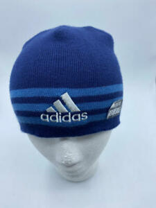 adidas Youth Boy's/Girl's Eclipse Reversible Beanie, Royal/Grey/Blue, ONE SIZE