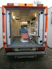 Mobile Zahnarztklinik  Behandlungseinheit, Spendenmodell Zahnarztpraxis