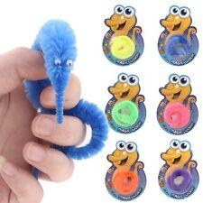 Magic Twisty Fuzzy Worm Wiggle Moving Kids Trick Toy Caterpillar