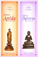 2 Boxes Tulasi Buddha Collection Incense JASMINE & ROSE Floral Insence 30 Sticks