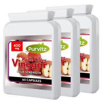 Apple Cider Vinegar Weight Loss Capsules Effective Diet Pills Supplement UK