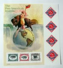 US Postage Stamps Sheet Scott #3505 PAN AMERICAN INVERTS  Cent MNH