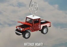 1980 Toyota Land Cruiser FJ45 w/ Open Top Custom Christmas Ornament Jeep Rover