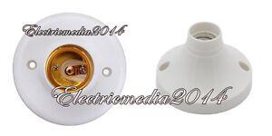 PORTALAMPADE E14 / E27 PER PUNTO LUCE INTERNO PER LAMPADE LED