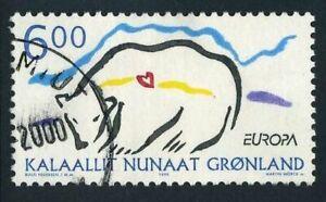 Greenland 348,used.Michel 338. EUROPE CEPT-1999.Polar bear.