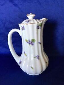**RARE PIECE* Royal Doulton 'Violets' Hot Water Jug (Pattern E3991)