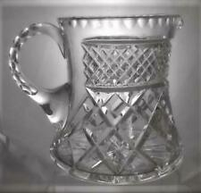 More details for rare royal doulton crystal cut glass two pint milk / water jug carlyle pattern