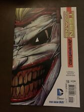 Teen Titans #15 / Death Of The Family / Joker Die-Cut Cover / New 52 / Dc Comics