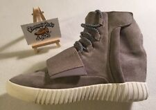 Adidas Mens Yeezy Boost 750 Hi Top Trainers UK 6.5 'RARE VINTAGE GREY SUEDE'