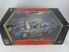 1:18 Burago Ferrari GTO 1984 blue racing