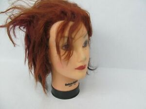 Cosmetology Mannequin Head Hair Stylist – Used/Styled #6 Burmax Deluxe Debra