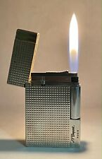 Vintage lighter Dupont Gatsby Silver Plated Very Good