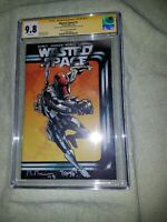 Wasted Space #1 Cgc 9.8 Signed by Tony Gregori and Michael Moreci - Muse Variant