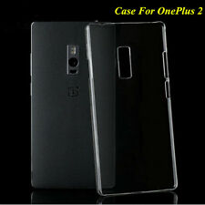 Slim Clear Crystal Glossy Transparent Hard Plastic Case Cover For OnePlus 2 Two