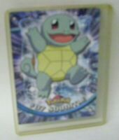 1998 Topps Pokemon Card Squirtle #07