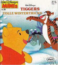 Walt Disneys MINIS Nr.28 Tiggers tolle Wintertricks Ehapa 1990 Z 0-1
