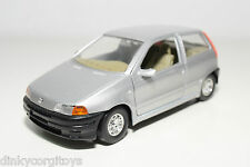 BBURAGO BURAGO FIAT PUNTO METALLIC GREY NEAR MINT CONDITION