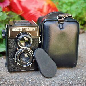 Lomo Lubitel 166B Film Camera/US Seller/See Pix With Camera/TLR 120 Camera