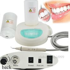 USA FDA!  Dental Ultrasonic Scaler Piezo  ENDO +2 bottles W handpiece fit EMS