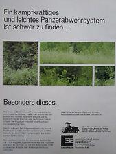 3/1977 PUB EMERSON DEFENSE SYSTEMS TOW VEHICLE ITV M113A1 ORIGINAL GERMAN AD