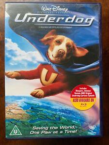 Underdog DVD 2007 Dog Superhero Walt Disney Family Movie with Jason Lee