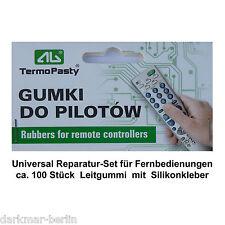 Universelles Reparaturset f. Funkschlüssel mit Leitgummi, key fob, Fernbedienung
