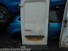 IVECO DAILY 29L10V 2003 SWB NSR PASSENGER SIDE REAR BARE DOOR WHITE